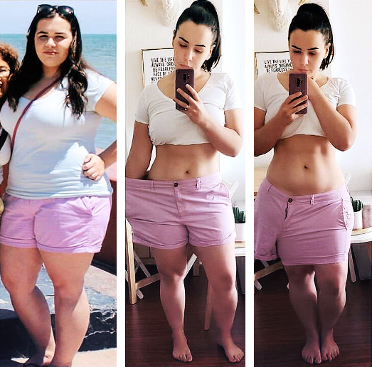 150 pounds weight loss before and after