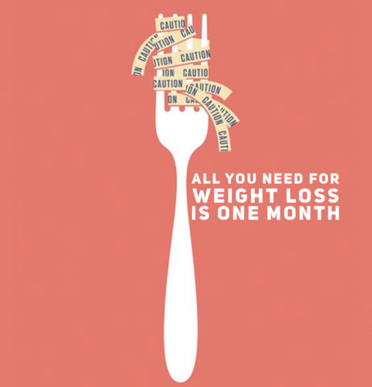 All you need for weight loss is one month