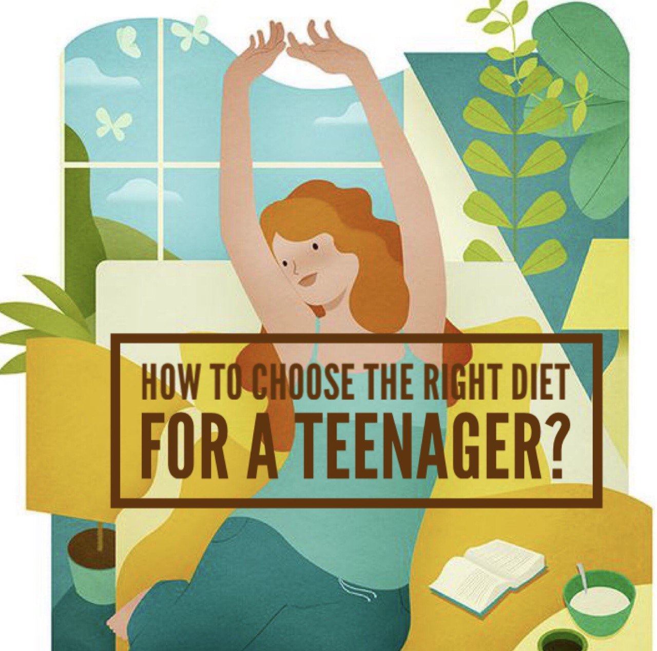 How to choose the right diet for a teenager?