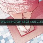 Working on legs muscles
