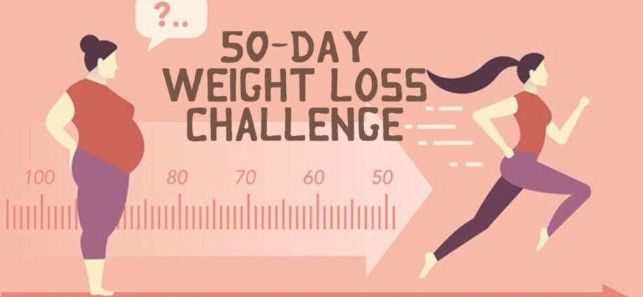 50-day weight loss challenge