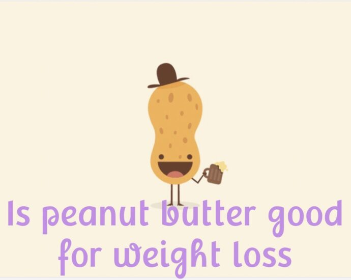 Is peanut butter good for weight loss?