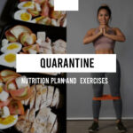 Survive quarantine. Nutrition plan and TOP-4 exercises.