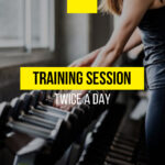 Can I have a training session twice a day