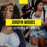 """I was uncomfortable in a bikini"": Jordyn Woods lost 30 pounds in five months"
